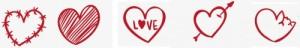 4,75 hearts