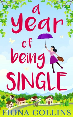 a year of being single book cover fiona collins
