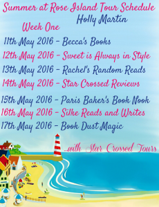 Tour Schedule wk1