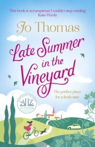 Late Summer in the Vineyard Jo Thomas book cover