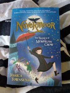 Nevermoor photo book cover UK edition Jessica Townsend