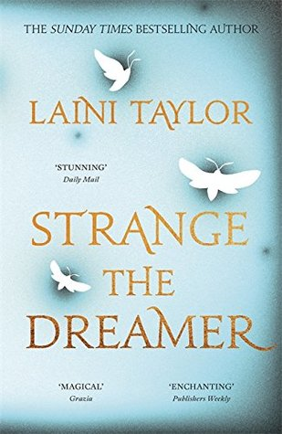 Strange the Dreamer Laini Taylor book cover UK edition