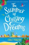 The Summer of Chasing Dreams book cover Holly Martin
