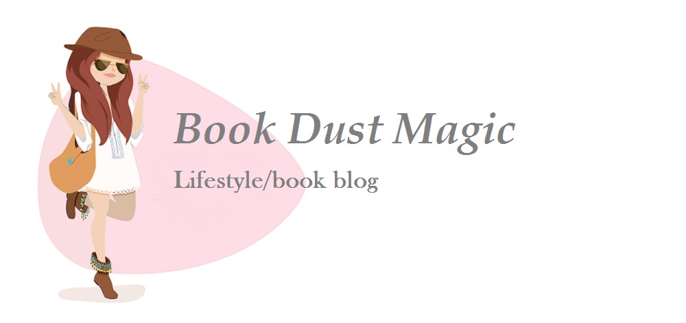 Book Dust Magic blog logo main page