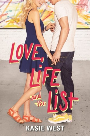 Love, life and the list by Kasie West book cover, HarperTeen