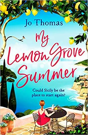 My Lemon Grove Summer by Jo Thomas book cover