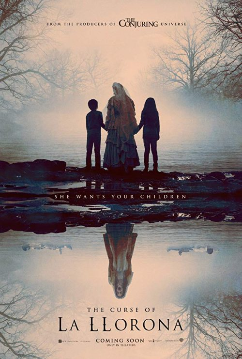 The Curse of La Llorona movie cover horror from The Conjuring franchise