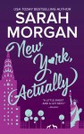 new york actually by sarah morgan book cover us edition