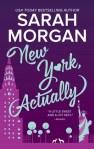 new york actually by sarah morgan book cover us edition