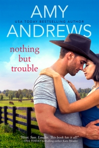 Nothing but Trouble by Amy Andrews book cover