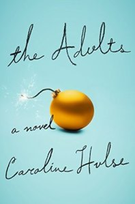 the adults by Caroline Hulse book cover US edition, Penguin Random House