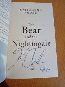 The Bear and the Nightingale signed edition