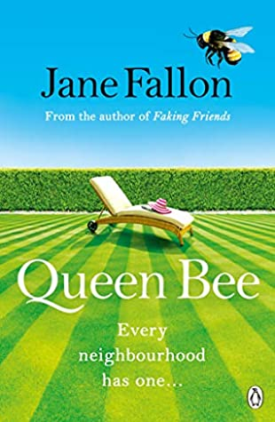 Queen Bee by Jane Fallon book cover UK edition