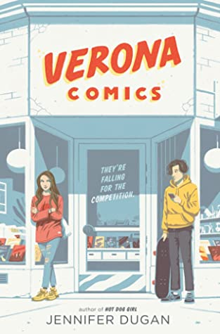 Verona Comics by Jennifer Dugan book cover