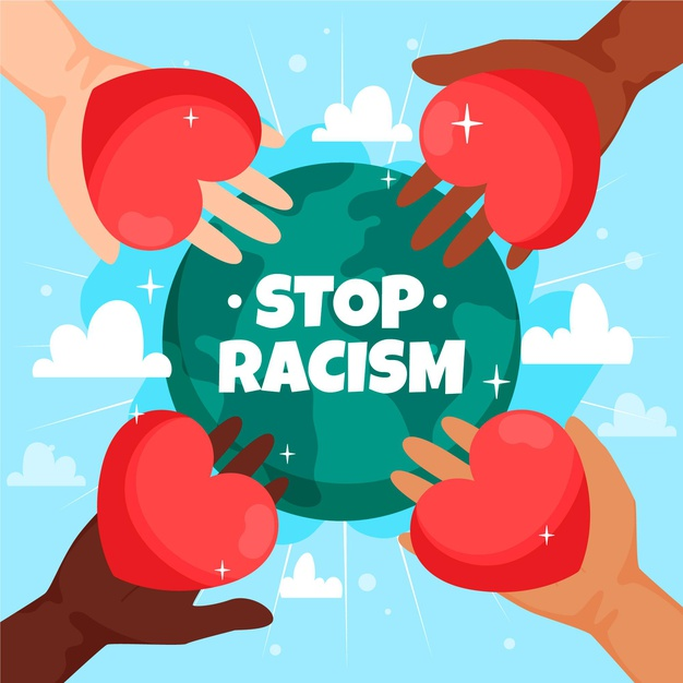 Stop racism BlackLivesMatter