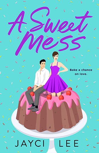 a sweet mess by jayci lee book cover us edition