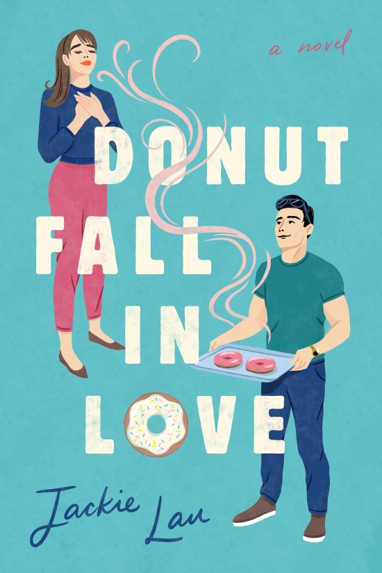Donut Fall in Love by Jackie Lou book cover US edition