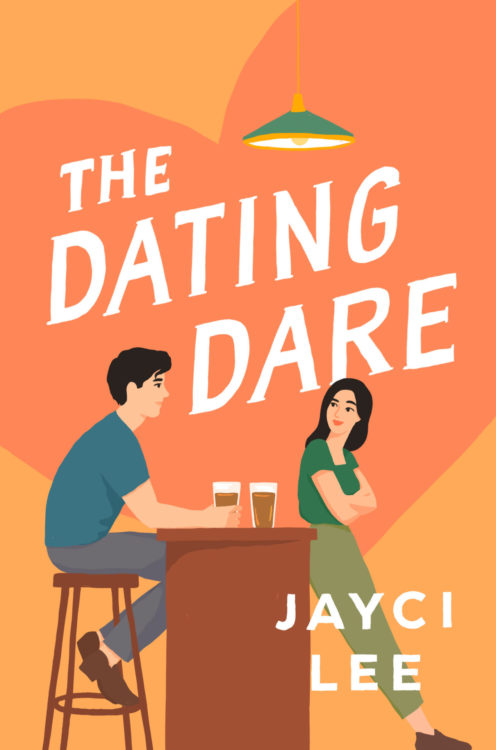 The Dating Dare by Jayci Lee book cover US edition