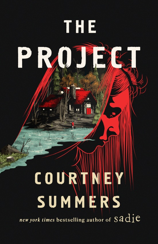 the project by coutney summers book cover US edition st. martin press wednesday books 2021